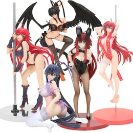 2021 figura secundaria dxd Anime High School DXD Figura de acción Bunny Girls Rias Gremory Himejima Akeno Swimwear Ver. 1/12 Scale PVC Figure Model Toy LJ200924