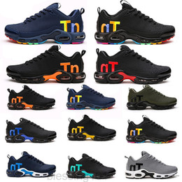 Melhores sapatos de corrida ao ar livre on-line-Mercurial TN Mens Designer Sapatos 2019 Homens Casual Air Cushion Dress Trainers Outdoor Melhor Caminhada Jogging Sports Sneakers US 7-12 BT1T