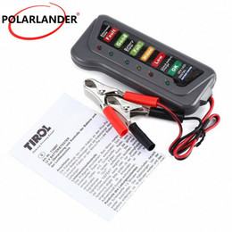 Tester di circuito led online-Digitale Batteria 12V di alta qualità LED alternatore Tester per il motociclo Trucks Auto Circuito rivelatore di Battery Tester Cgfr #
