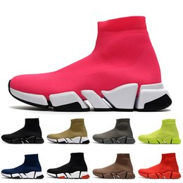 2021 fondo cava 2021 New Hollow Bottoms Donna Lussurys Designer Designer Sunk Shoes Platform Scarpe Casual Scarpe Casual Mocassini Vintage Sock Sock Trainer Mens Womens Boots