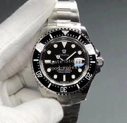 2021 movimento eta 2836 43mm orologi Mens Automatic Cal.3235 Movimento ETA 2836 Guarda gli uomini 904L Acciaio NOOBF Factory N Data NAW Ceramic Dive Sea Sport 126600 Orologi da polso