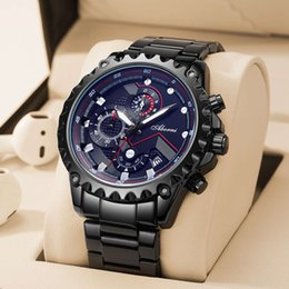 relojes deportivos digitales de gama alta Rebajas Trend Watch Men's Business New High-Fashion Deportes Sports High School Students Quartz Electronic Men's Watch Suiza