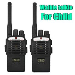 émetteurs-récepteurs de poche Promotion Portable mini portable Interphone talkie-walkie pour les enfants à deux voies Radio Walkie Handy Transceiver Transceiver interphonie