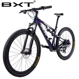 2021 rahmenaufhängung Neues Carbon Mountainbike 29er Full Suspension Bike Frame MTB Downhill 1 * 12Speed ​​Sports MTB Suspension Complete Bicycle1
