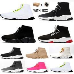 Tênis on-line-2021 designer sock sports speed 2.0 trainers trainer luxury women men runners shoes trainer sneakers  sapatos balenciaga balenciaca balanciaga