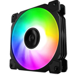 2021 ventilatore pc 12v JONSBO FR-502 FAN PC Case CPU CPU Fan Refrigeratore 12CM RGB Aura LED Computer Cooling 12V Caso per PC muto per computer