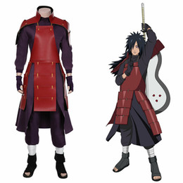 Traje de cosplay madara on-line-NARUTO0 Madara Cosplay Top terninho trajes de Halloween