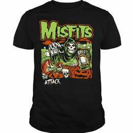 Angriff t online-Punk Rock Band-T-Shirt Misfits The Attack T-Shirt gS6t #
