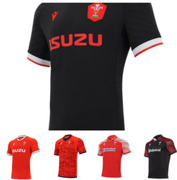 2021 chemises hommes ligue t 20-21 Jerseys Rugby Worlle Coupe Jersey Galles Gallois Polo T-shirt League Homme Rouge Chemises Sport