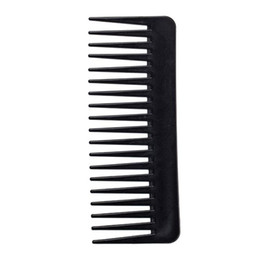 spazzolino da denti neri Sconti Big Wide Tooth Magic Pettine Black Professionale Hair Styling Styling Brush Salon Barber Ridurre la perdita dei capelli Q SQLGGW