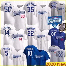 Beisebol de angeles on-line-2020 Dodgers Mookie Betts Corey Seager Jersey Los Cody Bellinger Angeles Enrique Hernandez Clayton Kershaw Justin Turner Baseball Piazza
