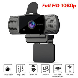 2021 amplia webcam Full HD 1080P Webcam USB de ancho USB USB2.0 gratis con MIC Web Cam Portátil Technaming Conferencia Cámara web de transmisión en vivo1