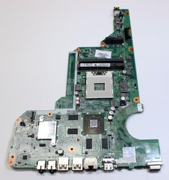 Placa base para hp pavilion laptop online-680569-501 Fit madre del ordenador portátil HP Pavilion G4 G6 G7-2000 DA0R33MB6F0 680569-001 680569-601 HM76 HD 7670M placa base hm76