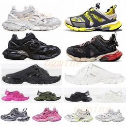 Gleitbahn online-chaussures hommes balenciaga balenciaca balanciaga 2021 spiridon caged Casual runner shoes Metallic Silver Lemon Venom Pistachio Frost Track  womens mens trainers sports sneakers