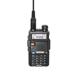 profissional walkie talkie portátil Desconto Handheld Baofeng DM-5R Digital Walkie Talkie Professional VHF / UHF dupla frequência Interphone Radio Intercomunicadores