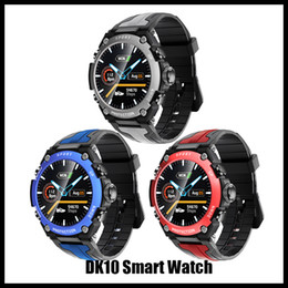 Taxas de iphone on-line-Pressão DK10 IPHONE relógio inteligente Homens IP68 Waterproof Reloj Hombre Com ECG retailPPG Sangue varejo Heart Rate Sports Academia