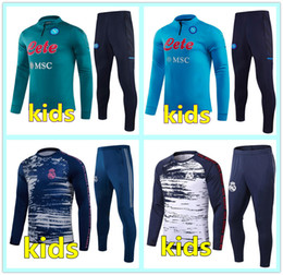 2021 tuta ajax 20 21 tuta da calcio napoli bambini Real Madrid kids soccer tracksuit football training 2020 2021 tuta ajax kids football tracksuit survetement chandal jogging