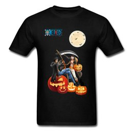 2020 uma peça de halloween luffy Halloween One Piece Series Gift Women Custom Tees Pumpkin Skull Ghost Tops Crazy Fun Luffy Zoro 3xl Sport Hooded Sweatshirt Hoodie T Shirt desconto uma peça de halloween luffy
