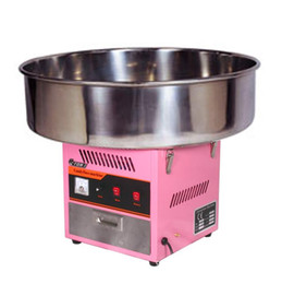 2021 macchine per caramelle di cotone 72 cm Top Bowl Cotton Candy Machine Electric Candy Floss Maker Rosa 220V Approvazione CE