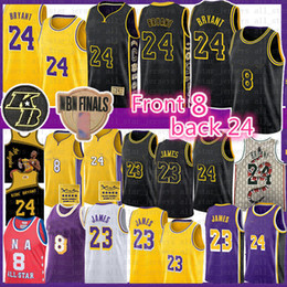 Blazers jersey on-line-Carmelo 8 24 Anthony Basketball Jersey Lebron 23 James Blazer Bryant NCAA Homens Jovens Crianças Lower Merion Los Angeles