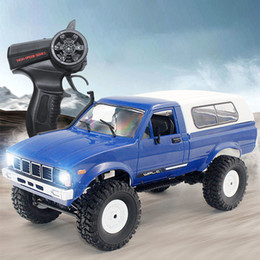 nitro Rabatt WPL 2. 1:16 RC Auto Jeep Modell Elektrische Radio Fernbedienung gesteuert Off-Road Truck Buggy Moving Machine RC Toys Boys Geschenke LJ200919