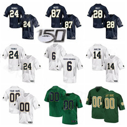 Camisetas irlandês on-line-NCAA Notre Dame Fighting Irish Football College 87 Michael Mayer Jersey 24 Tremble 14 Kyle Hamilton 6 Jeremias Owusu-Koramoah 28 Tariq Bracy