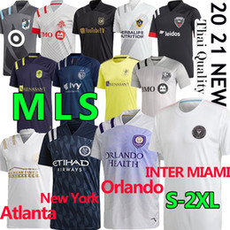 Jersey di galassia online-20 21 mls Soccer Jerseys Inter Miami La Galaxy FC Minnesota DC United New York Red Orlando City Bulls Atlanta Montreal Impact Football Camicia