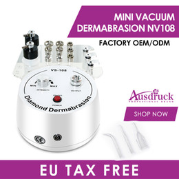 mini microdermabrasion dermabrasion Promotion New MINI 3in1 DIAMOND MICRODERMABRASION Dermabrasion SKIN PEELING with Vacuum Spray machine NF108 Facial Anti Age PEEL skin care 110-240V CE