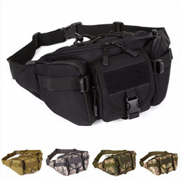 il pacchetto della vita esercito Sconti Uomini Impermeabile 1000D Nylon Vita Fanny Pack Tactical Military Sport Borsa dell'esercito Escursionismo Pesca Caccia Camping Travel Hip Bum Bort Bort