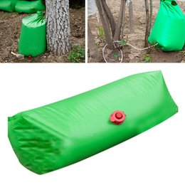 2020 boquilla de riego por goteo Plant Tree Drip Irrigation Adjustable Reusable Useful Efficient PVC Watering Bag Slow Release Time Saving With Nozzle Garden boquilla de riego por goteo baratos