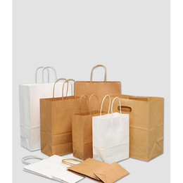 2021 identificadores de mensagens brown paper bags with handles bulk gift bags,wedding bag party bag shopping bags, kraft bags, retail bag 95% post consumer materials &