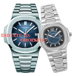 relojes de pulsera Rebajas 2021 U1 Factory Mens Menic Mecanical Watches Silver Strap Blue Gold Watch Reloj de pulsera impermeable impermeable Montre de Luxe Lady Watches