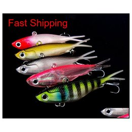 6pcs//lot Huge Minnow Bass Fishing Lures Plastic CrankBait Big Tackle 13.5cm 27g
