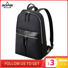borsa slim portatile Sconti Zaino del laptop sottile di Bopai 14 pollici per le donne Casual Daypack Backpacking Business Business Affari C1223