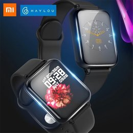 Inglês para relógio inteligente on-line-Xiaomi Haylou Solar LS02 Smart Watch English Version Chamada Lembrete IP68 À Prova D 'Água 12 Modos Esporte Bluetooth 5.0 Band Smart
