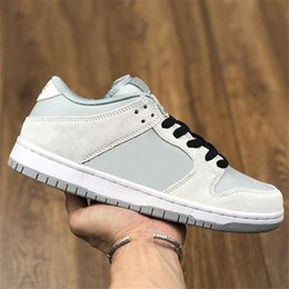 Placa de sapato on-line-Travis Scott X Playstation Game x Antártica Cinza Mulheres Sapato Skate Baixo Baixo Quebrado Backboard Wolf Grey Homens Shoe Cool Gray Sports Sneakers