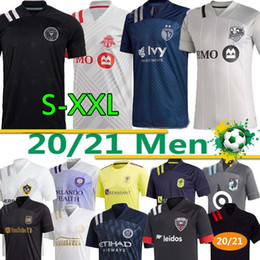 2021 chemises miami 20 21 MLS Soccer Jerseys Inter Miami La Galaxy New York Red Orlando City FC Minnesota DC United Bulls Atlanta Montreal Impact Shirt de football chemises miami pas cher