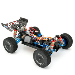 rennsport-hochgeschwindigkeitsfahrzeuge Rabatt WLtoys 144001 RC Car RTR High speed Drift Racing Car 4WD Upgrade Metal Parts 120A ESC 3300KV Brushless motor GT3B remote control 201218