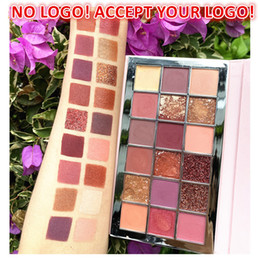 2021 ombretto palette trucco kit ombretto Nessun logo! 18 colori Scintillio Glittello Tavolozza opaco Matte Shimmer Smokey Eye Shadow Shadow Kit Beauty Mate Make Up Cosmetic Accetta il tuo logo ombretto palette trucco kit ombretto economici