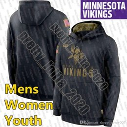 Maglie saluto servizio di felpa con cappuccio online-Minnesota