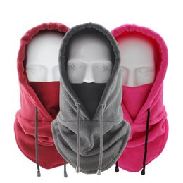 Sport kopfbedeckung online-Mode Hut Winter Warm Riding Hüte Winddicht Hut Outdoor Sports Schal Kaltsichere Verdickte Kopfbedeckung mit Faceshield Home Textil XD24231