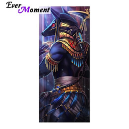 Pinturas egípcias on-line-Everly moment Pictures feitos por Diamond Egyptian deus Anubis Mosaic Diamante 3D Diamante Pintura Embroidery Pedras praças ASF854 201212