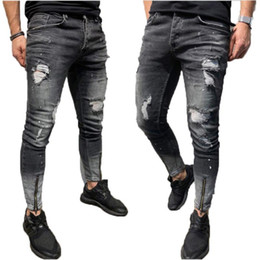 Men Skinny Jeans Zippers Ankle Canada Best Selling Men Skinny Jeans Zippers Ankle From Top Sellers Dhgate Canada