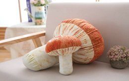Cogumelo travesseiro on-line-Mushroom Boneca Pillow Stuffed Fungo Plush Toy Pillow Decor Almofada presente de aniversário New 2020