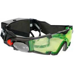 Gafas de luz led online-Children's With Light Night Plastic LED Gafas Sunglasses