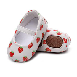 Scarpe primi passi online-Ragazze neonate First Step Shoes Baby Mocassini PU Shallow PU in pelle antiscivolo Toddler First Walkers Stivaletti Scarpe da ragazze12