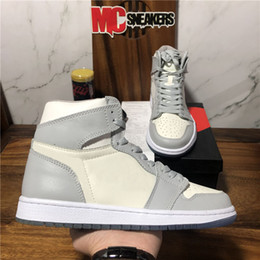 2021 calçados esportivos retro New Jumpman 1 1s Juventude Meninos Homens Mulheres Alto Retro Basquetebol Sapatos Travis Scotts Fearless Obsidian Unc Un Unc Athletics Sneakers Sapatos Esportivos Mens