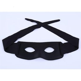 2020 maschere di partito zorro Maschera Masquerade Zorro Forniture Cosplay Bambino Mezza Adulto Eye Prop Face Masks C Party Black 1 7ly Nuovo TSVWB sconti maschere di partito zorro