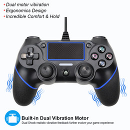 2021 joystick ps  Wired Gamepad PlayStation PS4 Controller für PS3 Joystick Gamepads PS 4 Console Y1123 rabatt joystick ps
