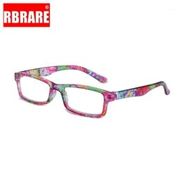 2021 nuevas gafas de lectura para las mujeres RBRARE 2020 Nuevo Anti-Blue Light Light Lection Glasses Flower Resin Frame Square Men and Women Reading Gafas Prescripción Men1 nuevas gafas de lectura para las mujeres baratos